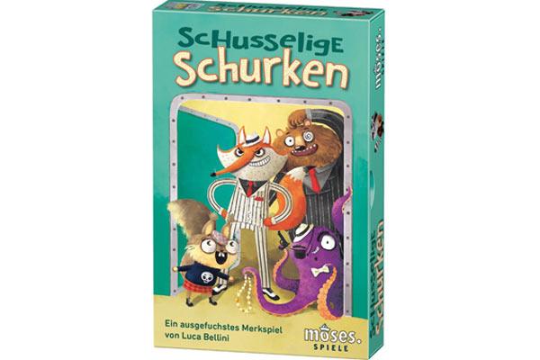 Familien- und Kinderspiel Schusselige Schurken - Foto von moses.Verlag