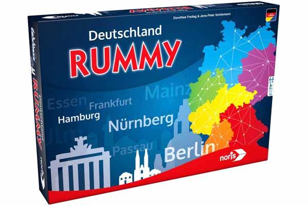 Deutschland Rummy - Schachtel - Foto von Noris Spiele