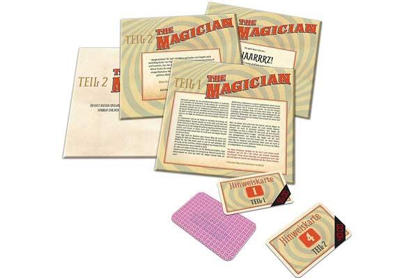 Escape Room - Das Spiel: The Magician - Material - Foto von Noris