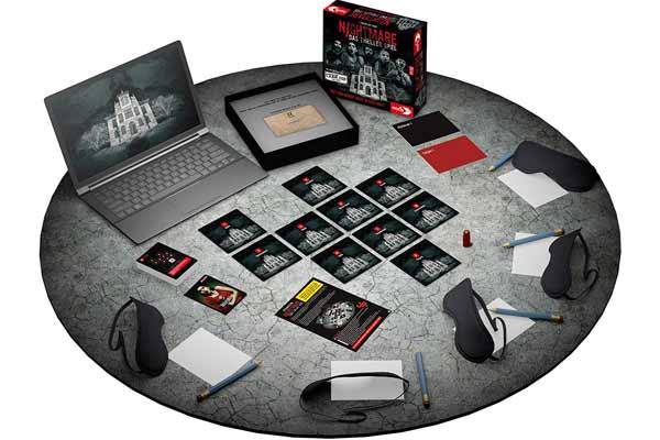 Nightmare - Das Thriller Spiel - Material - Foto von Noris Spiele