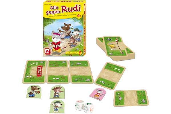 Kinderspiel Alle gegen Rudi - Foto von NSV