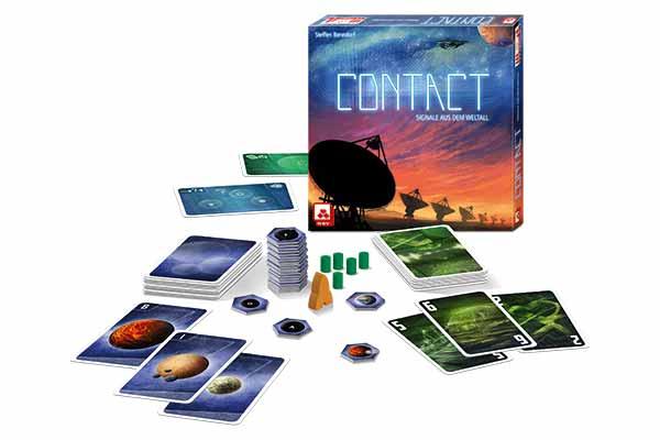 Gesellschaftsspiel Contact - Material - Foto von NSV
