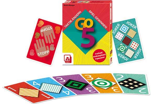 Go 5 - Karten und Schachtel - Foto von NSV