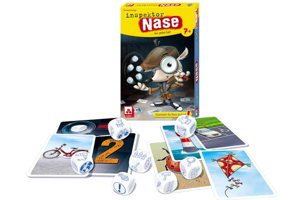 Inspektor Nase - Material - Foto von NSV