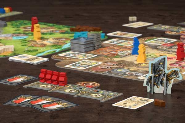 Crown of Emara - Spielsituation - Foto von Pegaus Spiele