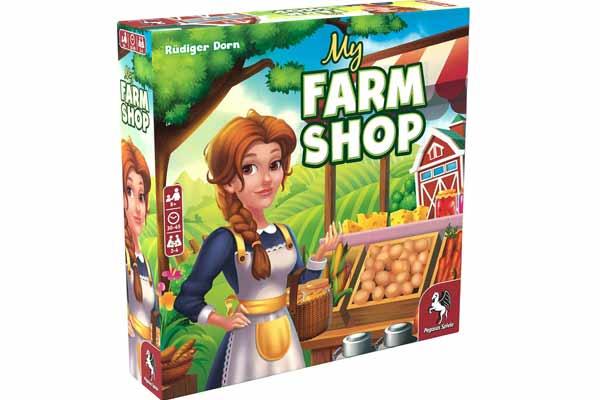 My Farm Shop - Cover - Foto von Pegasus Spiele