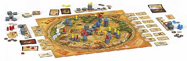 Spielszene Porta Nigra - Foto von Pegasus Spiele