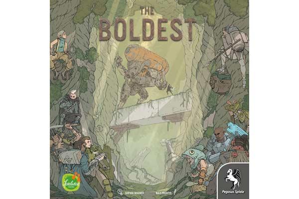 Gesellschaftsspiel The Boldest - Foto von Pegasus Spiele