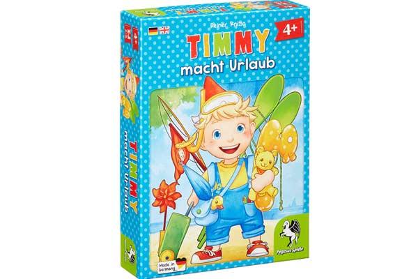Kinderspiel Timmy macht Urlaub - Foto von Pegasus Spiele