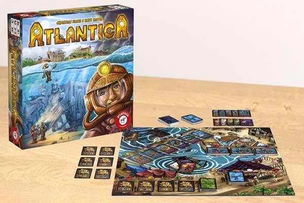 Familienspiel Atlantica - Foto von Piatnik