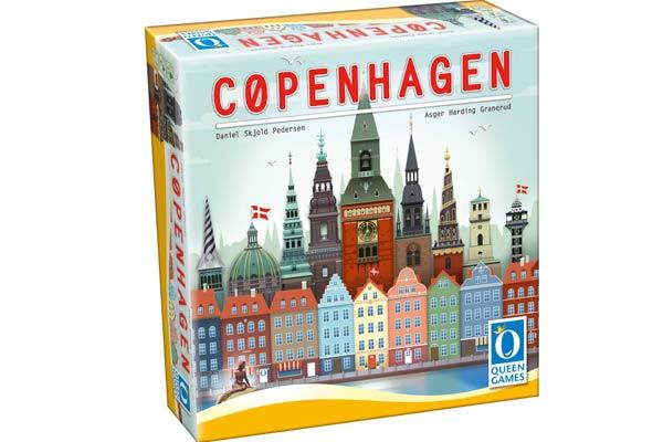 Gesellschaftsspiel Copenhagen - Foto von Queen Games