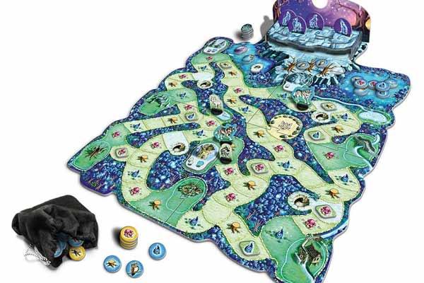 Wald der Wölfe - Spielaufbau - Foto von Queen Games
