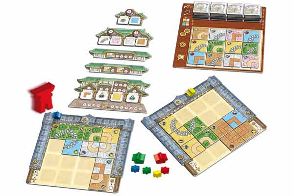 Material von Zen Garden - Foto von Queen Games