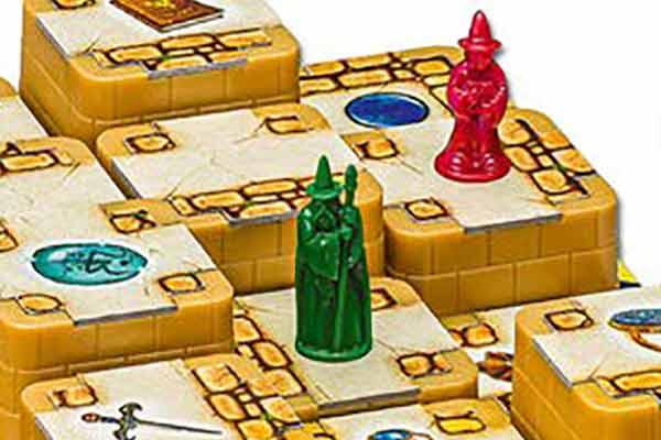 3D Labyrinth - Detail Höhenunterschiede - Foto von Ravensburger