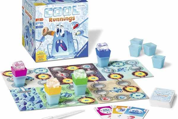 Familienspiel Cool Runnings - Aufbau - Foto von Ravensburger