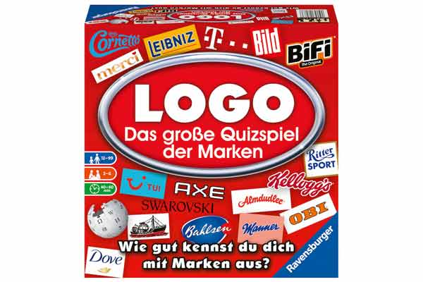 Logo: Das große Quizspiel der Marken - Schachtel - Foto von Ravensburger