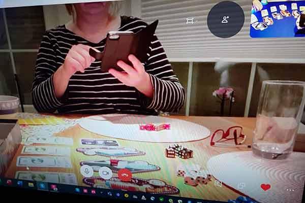 Ein virtueller Spieleabend in Zeiten von Corona - Foto von Axel Bungart