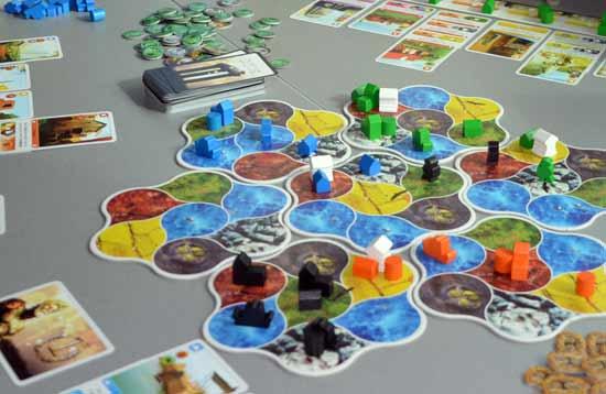 Deus von Pearl Games auf der Spiel '14 - Foto Axel Bungart