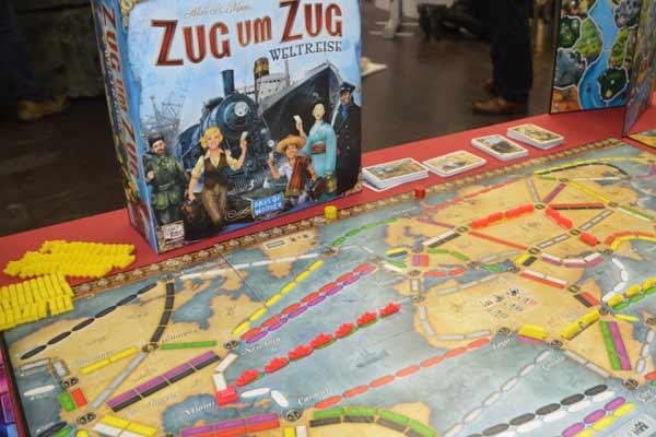 Zug um Zug Weltreise 2016 in Essen - Foto von Axel Bungart
