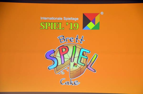 Aktion Brettspiel-Cake