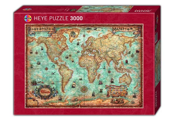Puzzle The World - Foto von Heye