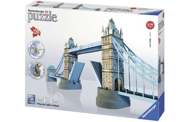 Puzzle 3D Tower-Bridge-London - Foto von Ravensburger