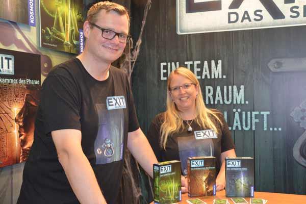 Exit-Spiele mit den Brands 2016 in Essen - Foto von Axel Bungart