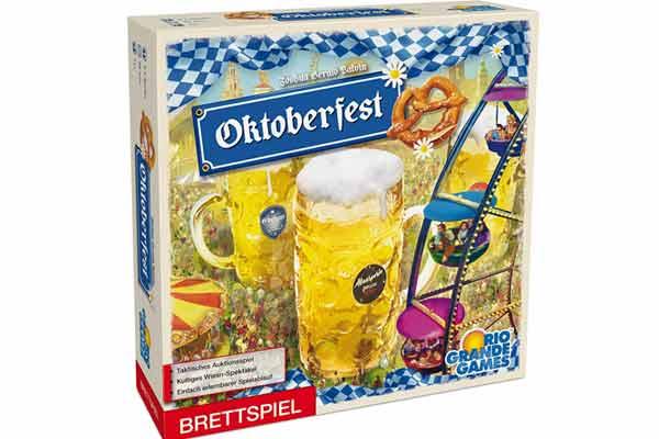 Brettspiel Oktoberfest - Schachtel - Foto von Rio Grande Games