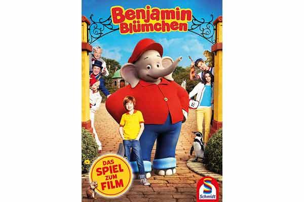 Kinderspiel Benjamin Blümchen: Das Spiel zum Film - Foto von Schmidt Spiele