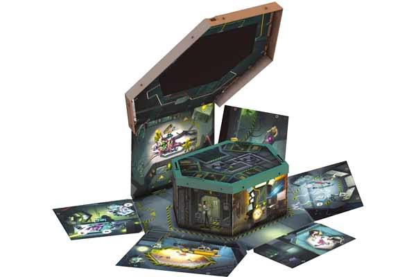 Break In: Area 51 - Einbruch-Mechanismus - Foto von Schmidt Spiele