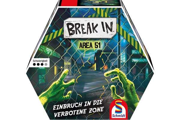 Break In: Area 51 - Schachtel - Foto von Schmidt Spiele