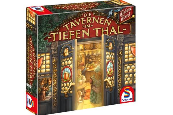 Brettspiel Die Tavernen im tiefen Thal - Foto von Schmidt Spiele