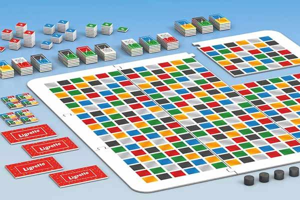 Ligretto - Das Brettspiel - Spielszene - Foto von Schmidt Spiele