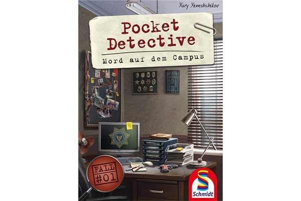 Pocket Detective: Mord auf dem Campus - Schachtel - Foto von Schmidt Spiele