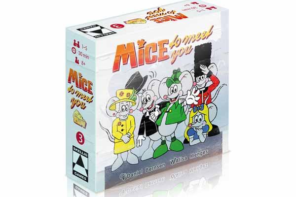 Gesellschaftsspiel Mice To Meet You - Schachtel- Foto von Skellig Games