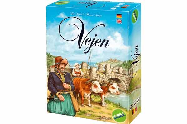 Brettspiel Vejen - Schachtel - Foto von Spielefaible