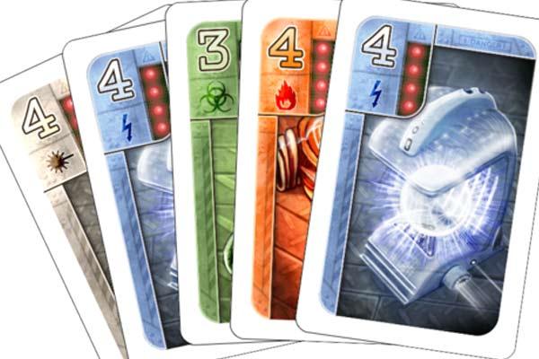 Spielkarten von Area 51 - Foto von Mücke Spiele