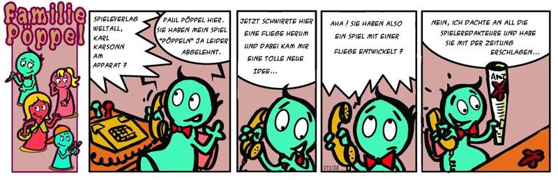 Spiele-Comic: Die Fliege