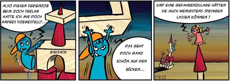 Spiele-Comic: Ferienjob beim Zoch Verlag