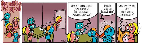 Spiele-Comic: Der Sendeplatz