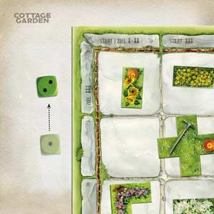 Cottage Garden und die Puzzleteile - Foto von Edition Spielwiese