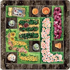Cottage Garden gepuzzelt - Foto von Edition Spielwiese
