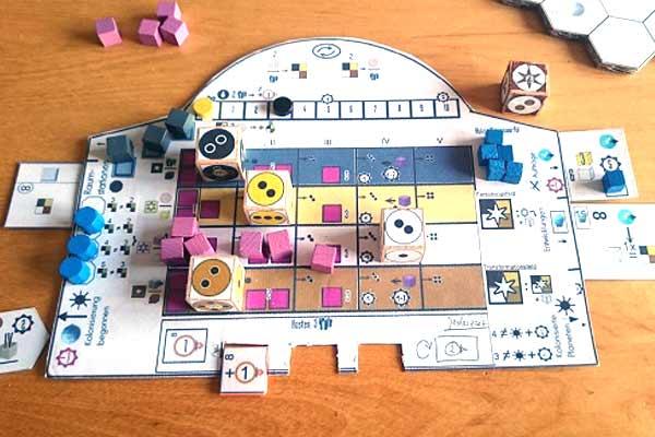 Prototyp-Tableau von Solarius Mission - Foto von Ode und Mike