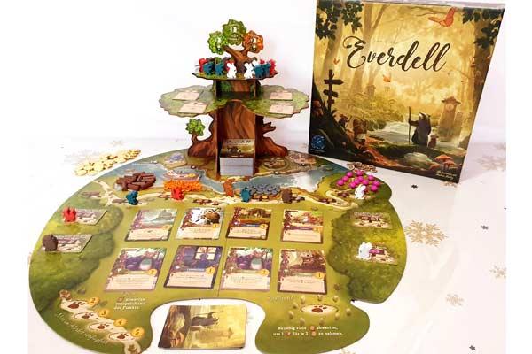 Everdell Spielplan - Foto von Jenny Klang