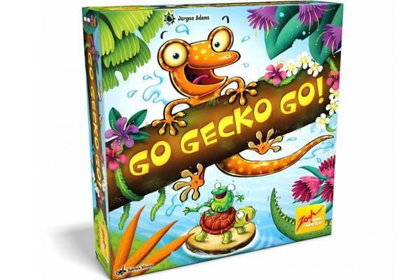 Kinderspiel Go Gecko Go - Foto von Zoch