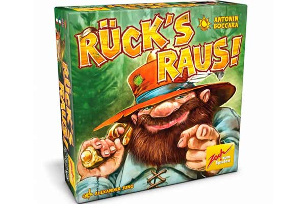 Verpackung von Rück's raus! - Foto von Zoch Verlag
