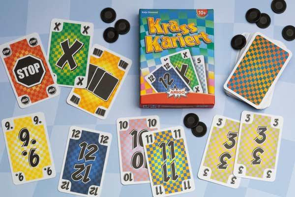 Kartenspiel Krass Kariert - Foto von Amigo Spiele