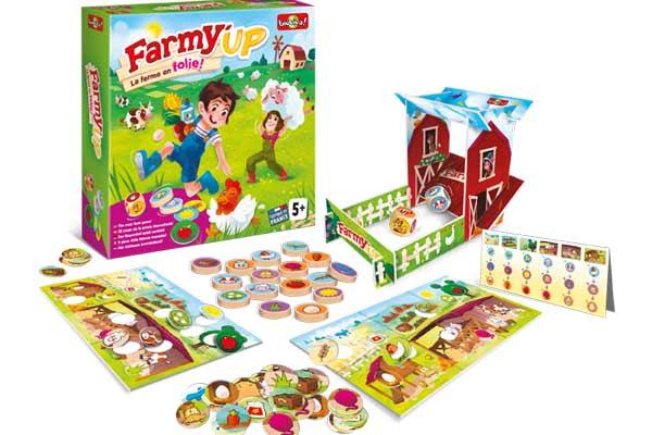 Kinderspiel Farmy Up - Foto von Bioviva