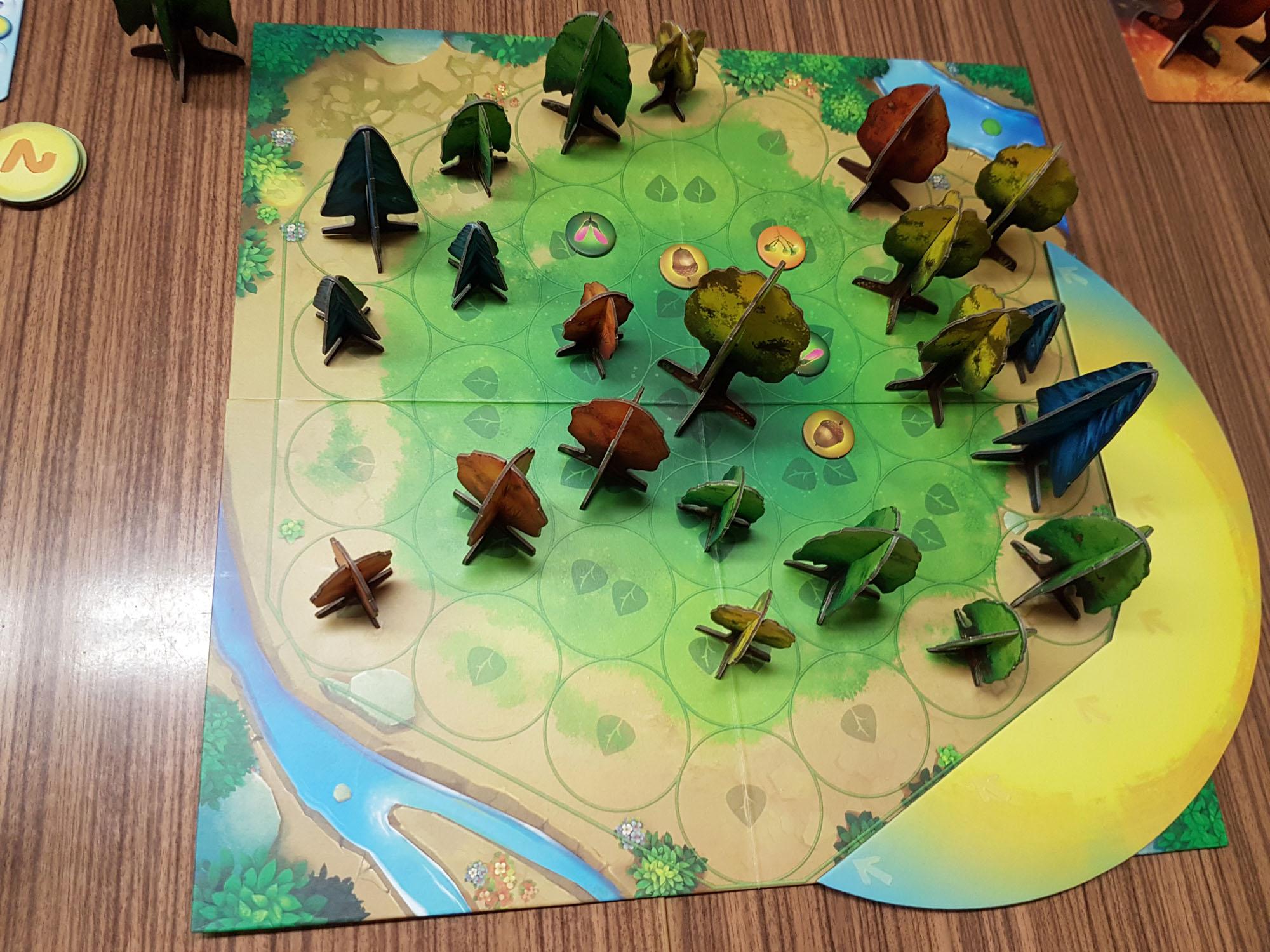 Das Spielfeld  von Photosynthesis - Foto von Alex Sch.