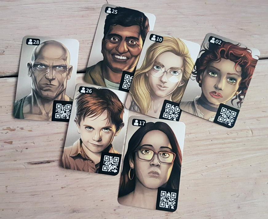 Chronicles of Crime Personen auf Karten - Foto von Alex Sch.